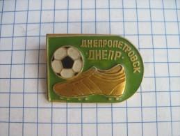 Ukraine Football  Dnipro FC Dnepr  Soft enamel