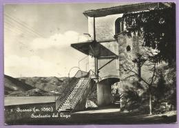 Scanno (AQ) - Santuario Del Lago - 1956 - Viaggiata - Italie