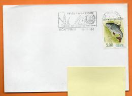 30 MONTFRIN   SON VIGNOBLE SON GARDON  16 / 9 /2000 Lettre Entière N° H 385 - Marcophilie (Lettres)
