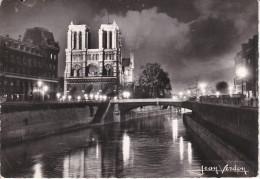 Francia--Paris--1965--Notre Dame---Cachet-Paris, XVI - Notre Dame De Paris