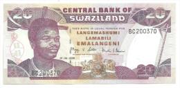 Swaziland 20 Emalangeni 2006 UNC - Swaziland