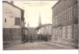 Guerre 1914-1918-L'Argonne-Marne-Vienne-le-Château Route De Benarville-écrite Par Un Soldat (poilu) En 1915  (voir Scan) - Guerre 1914-18
