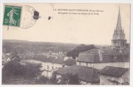 Aéroplane évoluant Au Dessus De La Ville - La Mothe Saint Heray