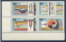 DDR Michel Nr. 2557 - 2560 ** postfrisch MNH / DV Druckvermerk FN 3