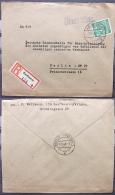 Kontrollrat 936 Auf R-Brief KAUFBEUREN A - Berlin - American,British And Russian Zone
