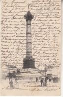 Paris Colonne De Juillet - Autres Monuments, édifices