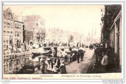 PAYS BAS.AMSTERDAM.LINDEGRACHT EN ZATERDAGSCHEBRUG. - Amsterdam