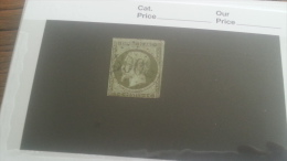 LOT 246795 TIMBRE DE FRANCE OBLITERE N�11 VALEUR 90 EUROS