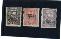 B - 1917 Romania - Occupazione Tedesca - Soprastampati (con Linguella) - Foreign Occupations