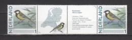 Netherlands 2011,2V In Strip,birds,vogels,vögel,oiseaux,pajaros,uccelli,aves,koolmees,Parus Major,MNH/Postfris(D2103) - Oiseaux