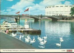 NOTTINGHAM - PONTE E  HOTEL - VIAGGIATA  - NO  BOLLO - Nottingham