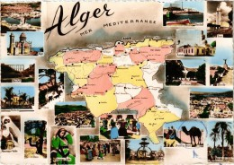 Algérie - Alger Vues Multiples - Très Rare- - Algiers