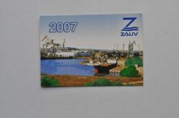 Calendar 2006 Ukraine Ship Crimea Kerch Zaliv Port 17