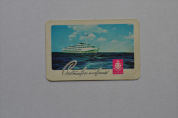 Calendar 1969 USSR Passenger ship sea 25