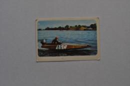 Calendar 1974 USSR Speed Motorboat River Ship 34