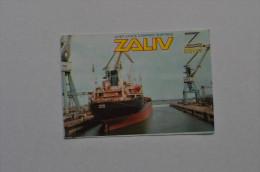 Calendar 2001 Ukraine Ship Zaliv Shipyard Company Crimea Kerch 42
