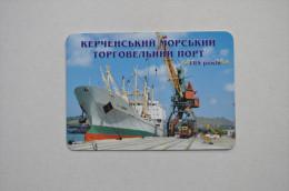 Calendar 2006 Ukraine Ship Port Crimea Kerch 51