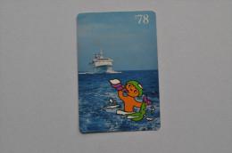 Calendar 1978 USSR Ship Passenger Steam boat Odessa Morflot 61
