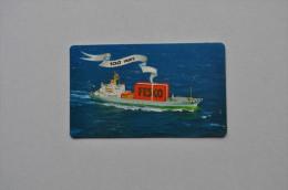 Calendar 1980 USSR Sea Ship Far-Eastern Shipping Company 65