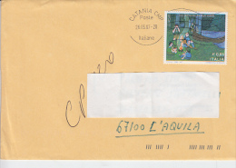 ITALIA  2007 -lettera  - Sassone  2968 (varietà Colori Spostati) -  Europa - Infanzia - 6. 1946-.. República
