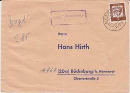 Bund Bed Deutsche Mi 348 Landpost Stempel 6951 Oberschwarzach B Mosbach Bf 1962 - [7] Federal Republic