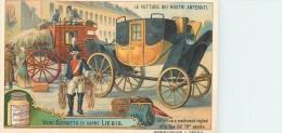 CHROMO LIEBIG -Le Vetture Dei Nostri Antenati -Diligenza E Mail-Coach Inglesi Ect. - Série Italienne N° 981 - Année 1909 - Liebig