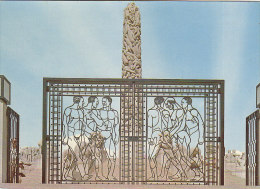 Oslo - One Of The Wrought Iron Gates To The Monolith - Norvège
