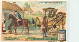 CHROMO LIEBIG -Le Vetture Dei Nostri Antenati - Vettura Postale Al Principio Ect. - Série Italienne N° 981 - Année 1909 - Liebig
