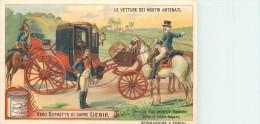 CHROMO LIEBIG -Le Vetture Dei Nostri Antenati - Carrozza D'un Generale Francese Ect. -Série Italienne N°981 - Année 1909 - Liebig