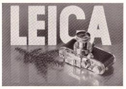 Original Werbung - 1941 - LEICA Camera Von Ernst Leitz In Wetzlar !!! - Fotoapparate