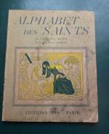 Alphabet Des Saints - 1901-1940