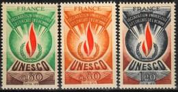 FRANCE 1975 TIMBRES De SERVICE - Du N° 43 Au N° 45  - 3 Timbres  NEUFS** Y&T 7,50€ - Service