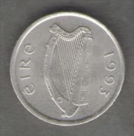 IRLANDA 5 PENCE 1993 - Irlanda