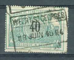 "BELGIE - OBP Nr TR 20 - Cachet  ""WEERT-ST-GEORGES"" - (ref. VL-4956) - Chemins De Fer"
