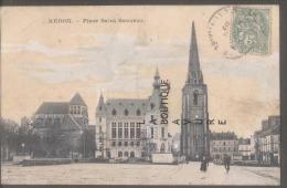 35 - REDON -Place Saint Sauveur - Redon