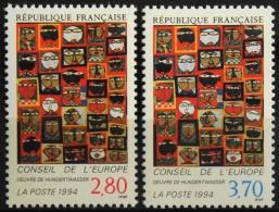 FRANCE 1994 TIMBRES De SERVICE - Du N° 112 Et Le N° 113  - 2 Timbres  NEUFS** Y&T 5,00€ - Service