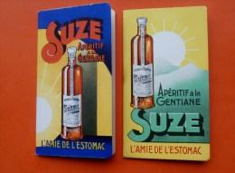 """lot de 2  """" Carnet,Calendrier publicitaire SUZE """" 1939 et 1940"""