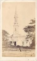 PHOTO CDV XIXeme : CHURCH AT ALLAHABAD INDE INDIA - Photographs