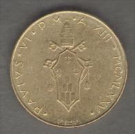 VATICANO 20 LIRE 1975 - Vaticano