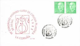 R 871. Tarjeta LA CORUÑA 1983. Medicina, Congreso Cirugia Plastica - 1931-Hoy: 2ª República - ... Juan Carlos I