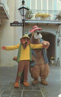 DISNEYWORLDBRER BEAR AND BRER FOX NEW ORLEANS SQUARE DISNEY FLORIDE - Disneyworld