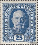 �sterreich 192 postfrisch 1916 Freimarken