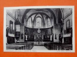 Cpa 70  VAUVILLERS  Interieur De L Eglise - Autres Communes