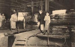 THEME - METIER - INDUSTRIE - La Verrerie - Réchauffage Des Cylindres. - Industry