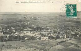 39 LONS LE SAUNIER  Vue Panoramique   2 Scans - Lons Le Saunier