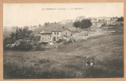 LE BESSAT (Loire). -- La Scierie - SCIERIE - BOIS - Autres Communes
