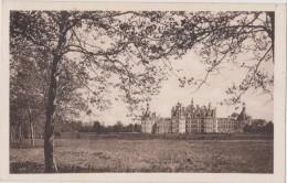Carte Postale Ancienne,41,loir Et Cher,CHAMBORD,CHATEAU,REN AISSANCE,14 Eme Siecle,parc Immense,cachet,marcophili E