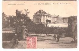 Chatel-Guyon-Chatelguyon (Riom-Puy-de-Dôme)-1905-Place Des Bains Et Casino-collection V.D.C.. - Châtel-Guyon