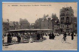 35 - RENNES -- Place Ste Anne - Le Marché - Procession En Ville - Rennes