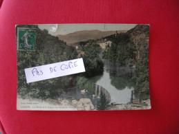 LODEVE Les Bords De La Lergue En Amont Du Pont De Celles, Glacée, Colorisée, éditeur Arnal, écrite - Lodeve